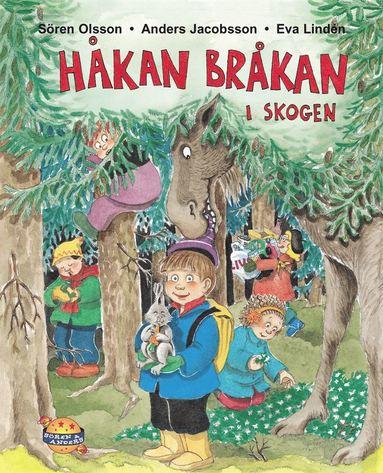 bokomslag Håkan Bråkan i skogen