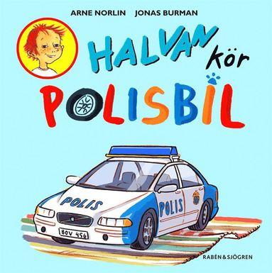 bokomslag Halvan kör polisbil