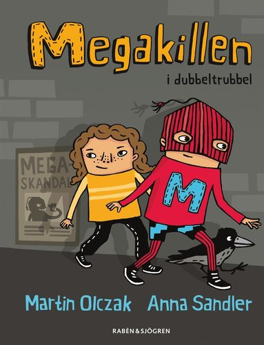 bokomslag Megakillen i dubbeltrubbel
