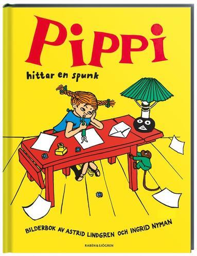 bokomslag Pippi hittar en spunk
