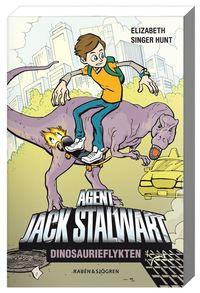 bokomslag Dinosaurieflykten : agent Jack Stalwart