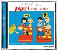 bokomslag Pippi börjar skolan