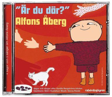 """bokomslag """"Är du där?"""" Alfons Åberg"""