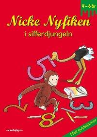 bokomslag Nicke Nyfiken i sifferdjungeln