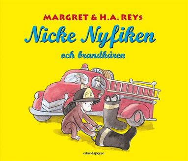 bokomslag Nicke Nyfiken och brandkåren