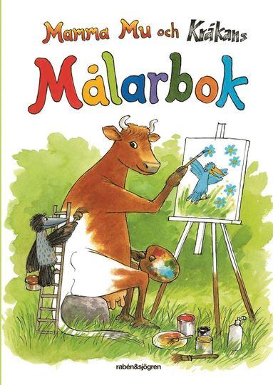 bokomslag Mamma Mu och Kråkans målarbok