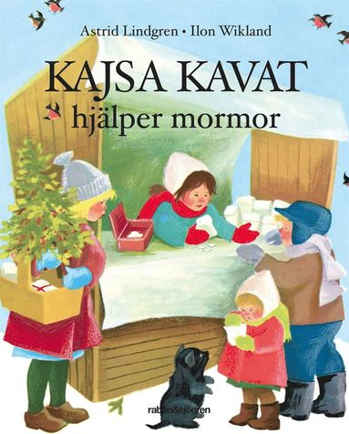 bokomslag Kajsa Kavat hjälper mormor