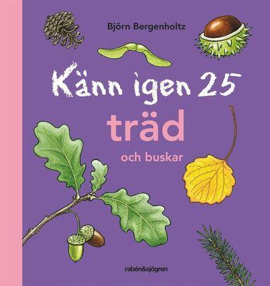 bokomslag Känn igen 25 träd och buskar