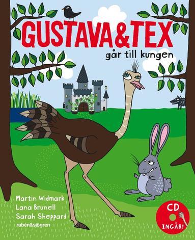 bokomslag Gustava och Tex går till kungen