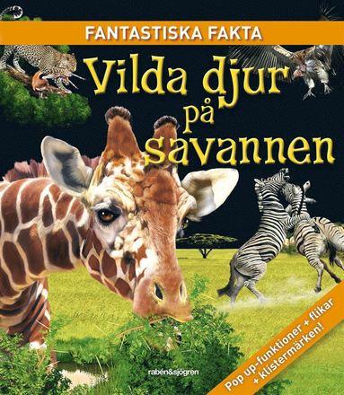bokomslag Vilda djur på savannen