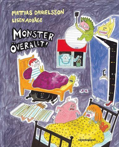 bokomslag Monster överallt!