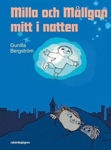 bokomslag Milla och Mållgan mitt i natten