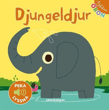 bokomslag Djungeldjur - Peka, lyssna