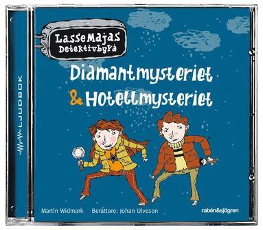 bokomslag Diamantmysteriet & Hotellmysteriet