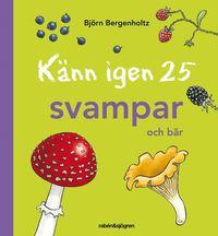 bokomslag Känn igen 25 svampar och bär
