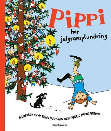 bokomslag Pippi har julgransplundring
