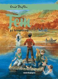 bokomslag Fem på fotvandring