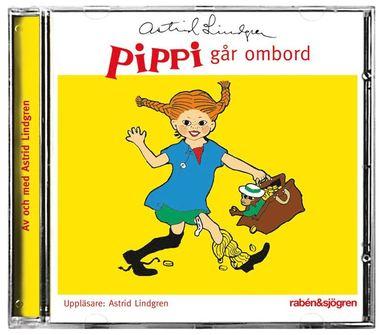 bokomslag Pippi går ombord