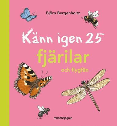 bokomslag Känn igen 25 fjärilar och flygfän