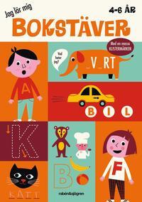 bokomslag Jag lär mig bokstäver