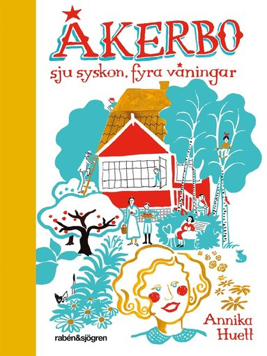 bokomslag Åkerbo : sju syskon, fyra våningar