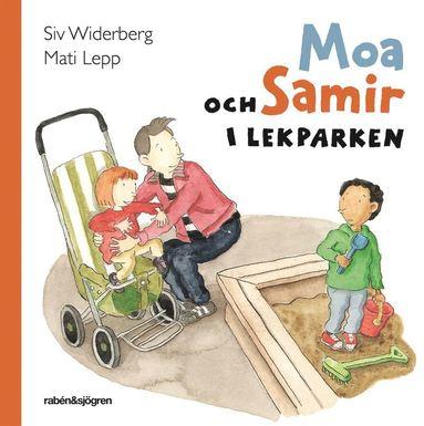 bokomslag Moa och Samir i lekparken