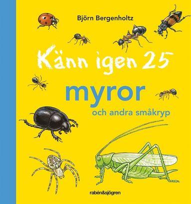 bokomslag Känn igen 25 myror och andra småkryp