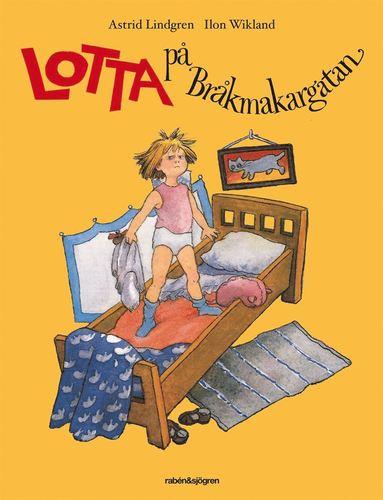 bokomslag Lotta på Bråkmakargatan