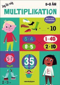 bokomslag Jag lär mig multiplikation