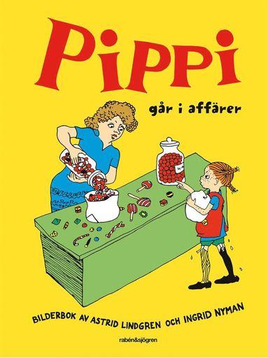 bokomslag Pippi går i affärer