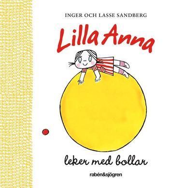 bokomslag Lilla Anna leker med bollar