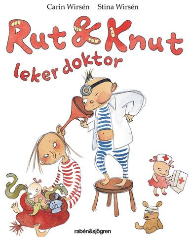 bokomslag Rut och Knut leker doktor