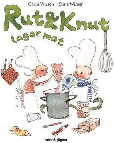 bokomslag Rut och Knut lagar mat