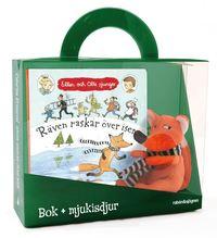 bokomslag Räven raskar över isen - Presentförpackning : Bok + mjukisdjur