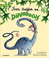 bokomslag Ivar träffar en Diplodocus