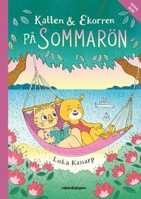 bokomslag Katten & Ekorren på Sommarön - Seriebok