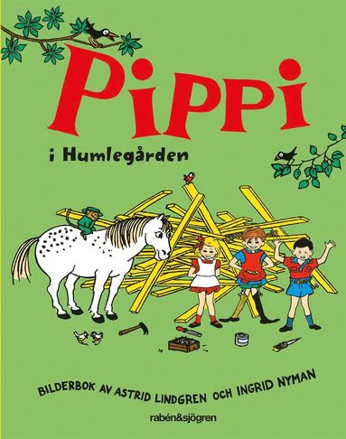 bokomslag Pippi i Humlegården