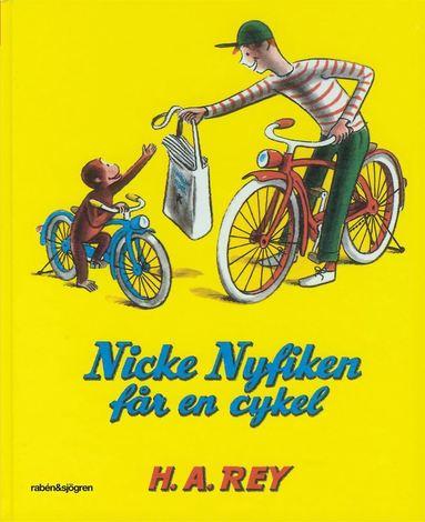 bokomslag Nicke Nyfiken får en cykel