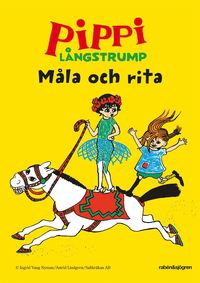bokomslag Pippi Långstrump Måla och rita