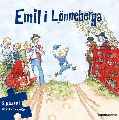 bokomslag Emil i Lönneberga Pusselbok : 5 pussel med 12 bitar i varje