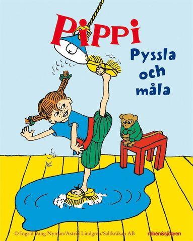 bokomslag Pippi Minipyssel : Pippi pyssla och måla