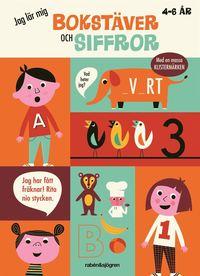 bokomslag Jag lär mig bokstäver och siffor