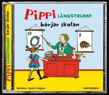 bokomslag Pippi Långstrump börjar skolan