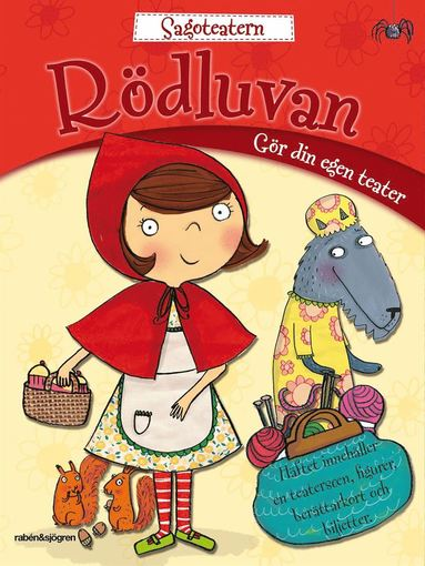 bokomslag Rödluvan pysselbok : Gör din egen teater