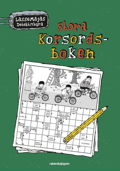 bokomslag LasseMajas stora korsordsbok