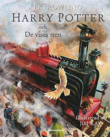 bokomslag Harry Potter och De vises sten (Illustrerad)