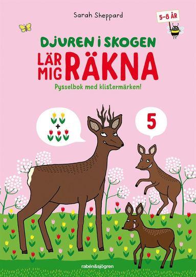 bokomslag Djuren i skogen lär mig räkna