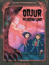 bokomslag Odjur på Gröna Lund