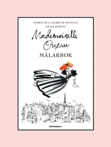bokomslag Mademoiselle Oiseau Målarbok