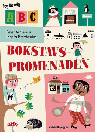 bokomslag Bokstavspromenaden - Jag lär mig ABC